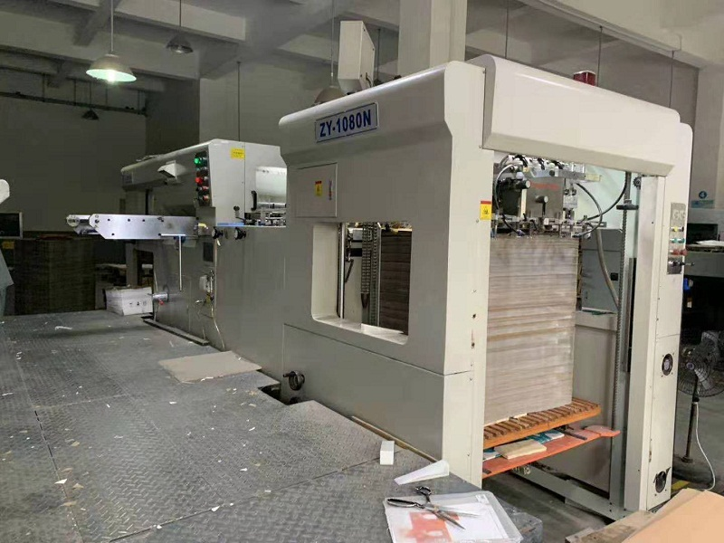 2015 ZY-1080N DIE CUTTING AND CRE